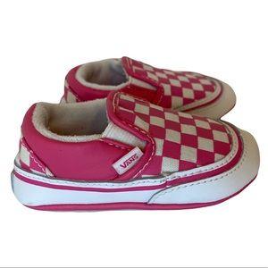 Itty bitty pink VANS sz 3 baby